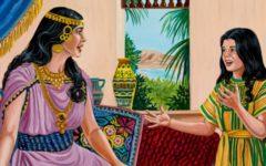 Estudo Biblico  ~ Aprendendo com a menina da casa de Naamã ~ 2 Reis 5